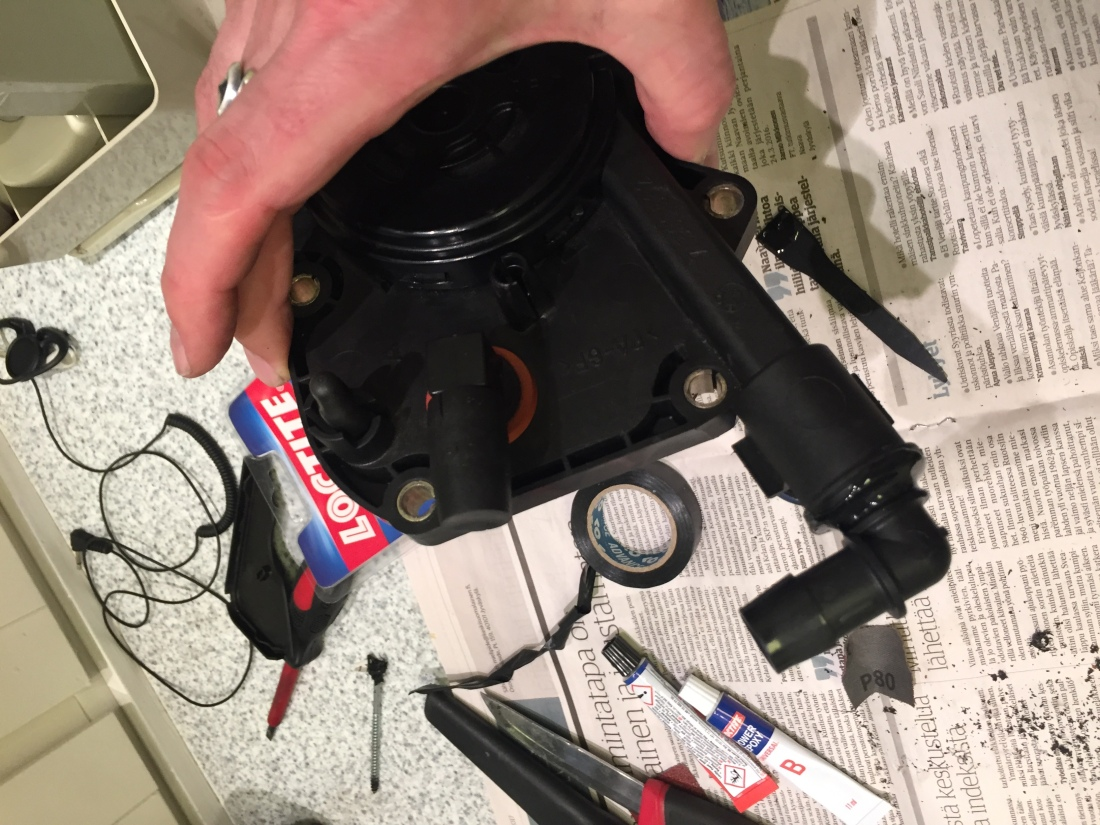 M60 stock crankcase ventilation valve problem: its design fault and